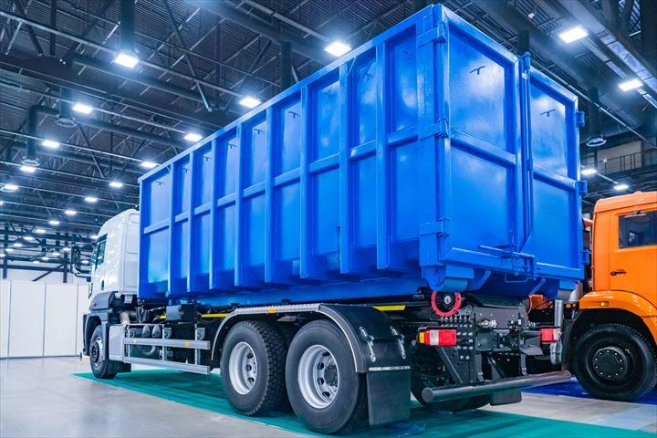 産業廃棄物収集車